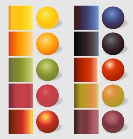 fruits gradients Fruits10