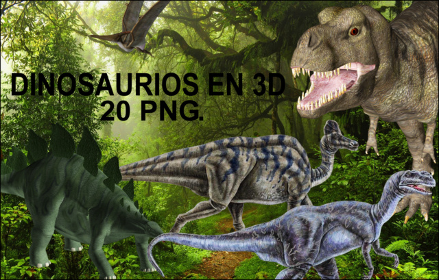 Dinosaurios en 3D // Dinosaurs in 3D Image113