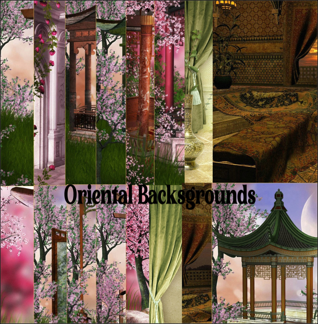 Oriental Backgrounds  Image116