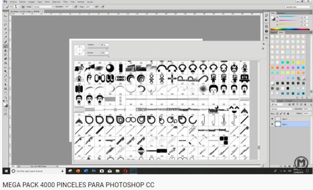 Mega Pack 4000 Pinceles Para Photoshop CC Image412