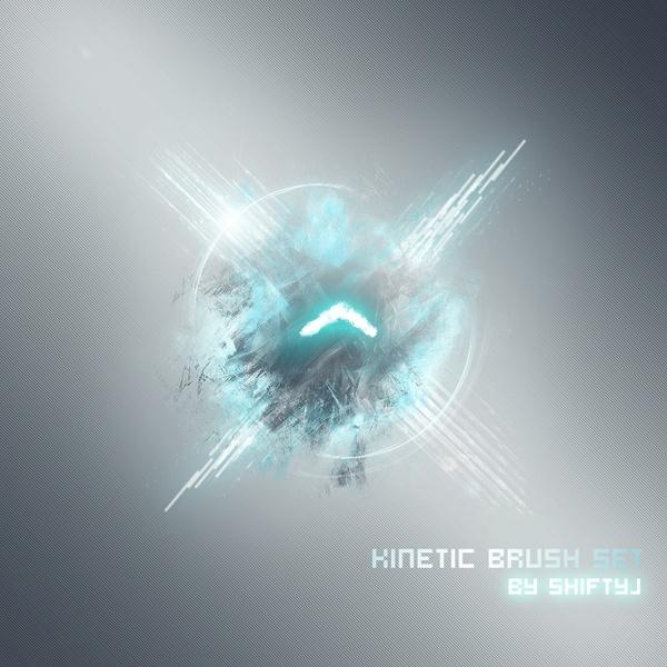 Kinetic Brush Set  Kineti10