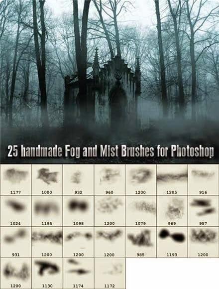 Fog and Mist Brushes Muestr10