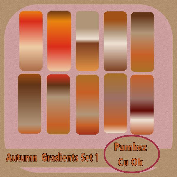 PSP Autumn Gradients Set 1 Pk_aut10