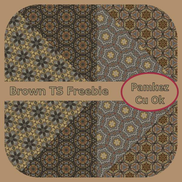 Brown TS Papers Freebie Pk_bro10