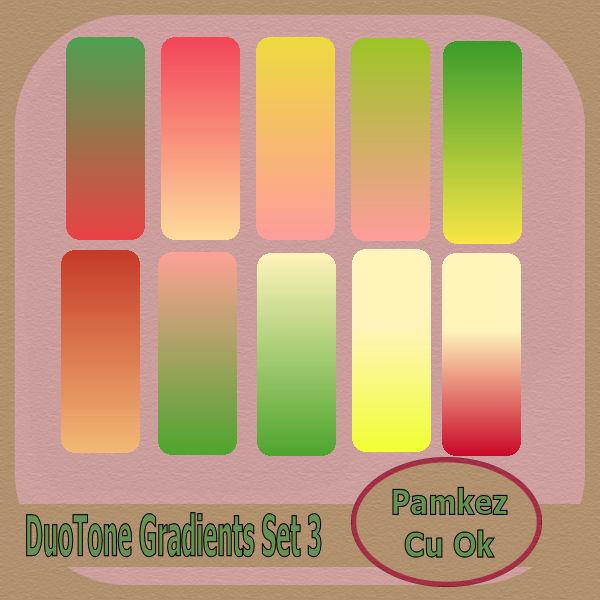 PSP Duotone Gradients Set 3 Pk_duo10