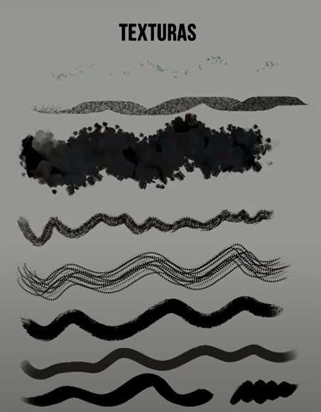 Texture Brushes - Pinceles de Texturas Textur11