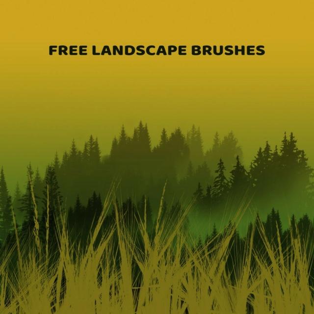 Landscape Brushes Trees_11