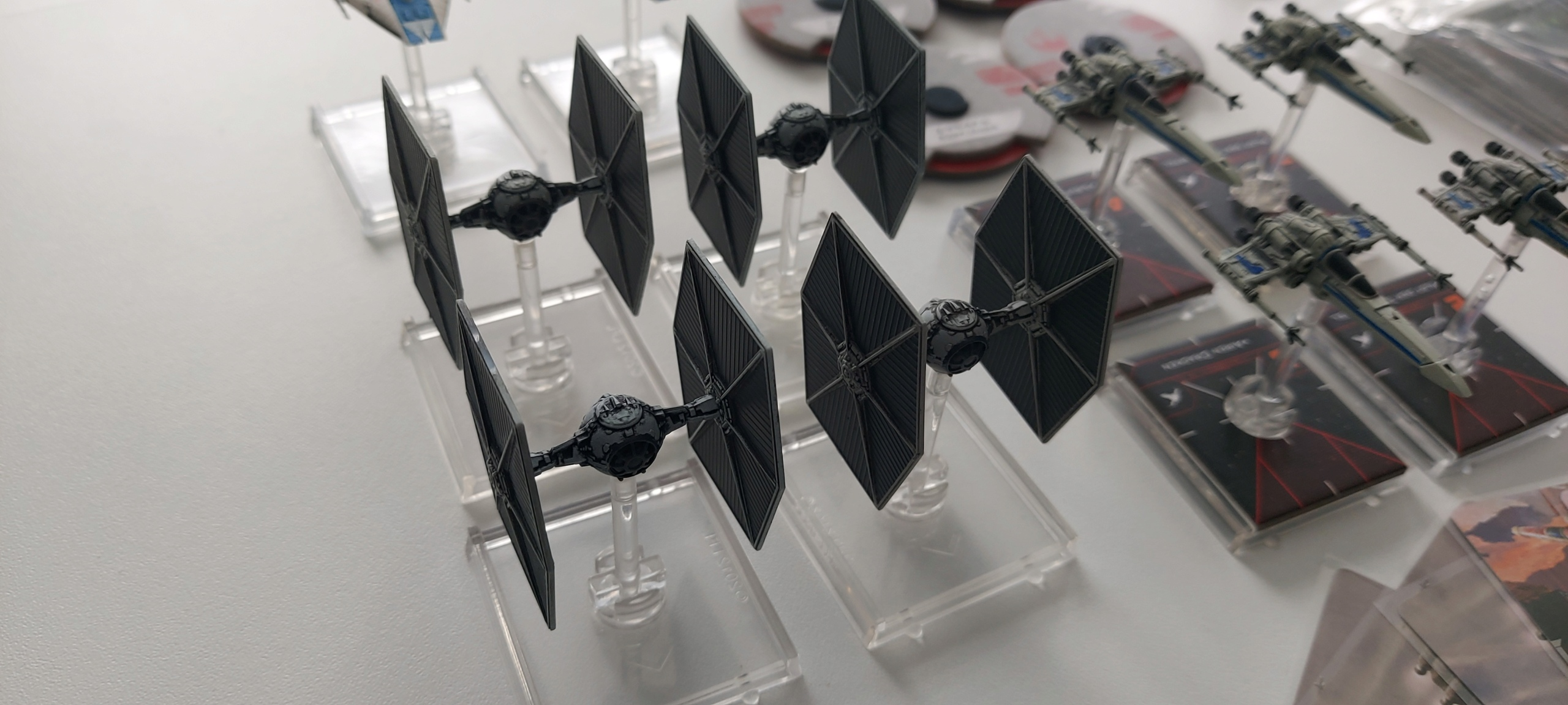 [Biete] X-Wing Rebellen, TIE´s und Slave I, sonstiges 20210911