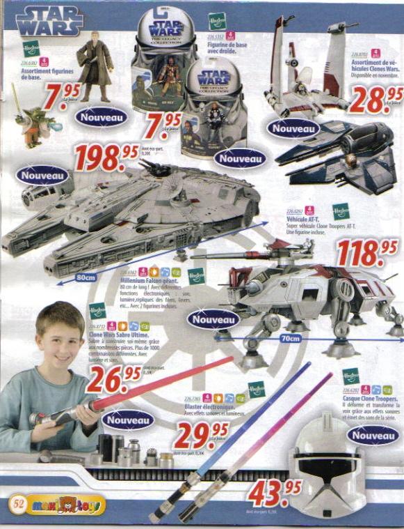 Toutes les nouveautées Star Wars I310