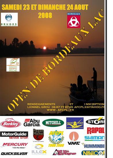 open AFCPL de Bordeaux lac Kbnup10
