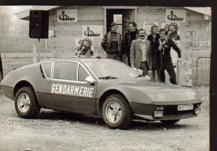 Quelques véhicules d'exception de la Gendarmerie 115