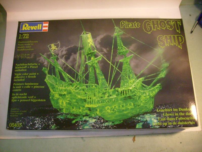 [REVELL] Vaisseau PIRATE GHOST SHIP 1/72ème Réf 05433 S7300502