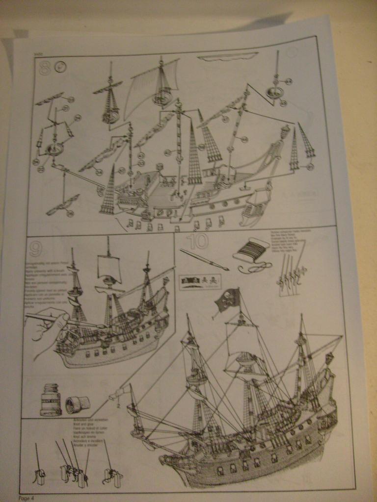 [REVELL] Vaisseau PIRATE GHOST SHIP 1/72ème Réf 05433 S7300508
