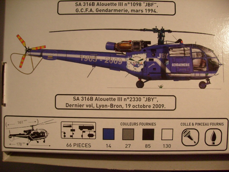 Alouette III gendarmerie nouveau package 2012 S7302115