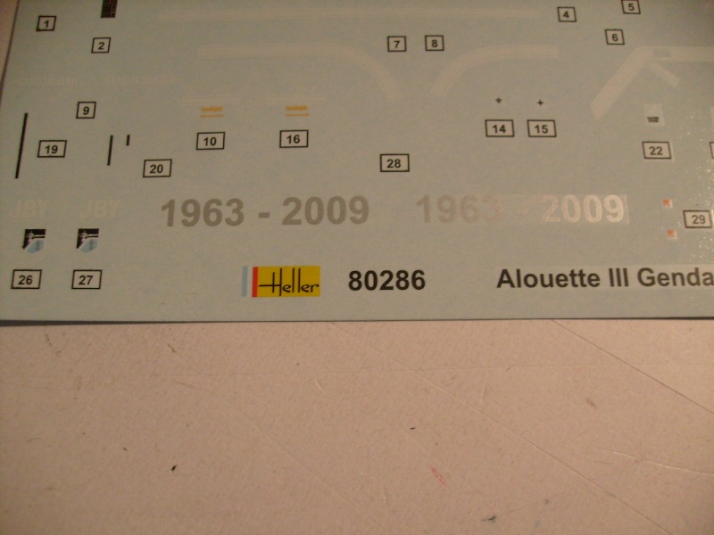 Alouette III gendarmerie nouveau package 2012 S7302118