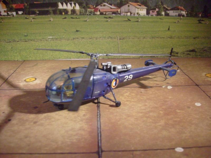Alouette III gendarmerie nouveau package 2012 S7302120