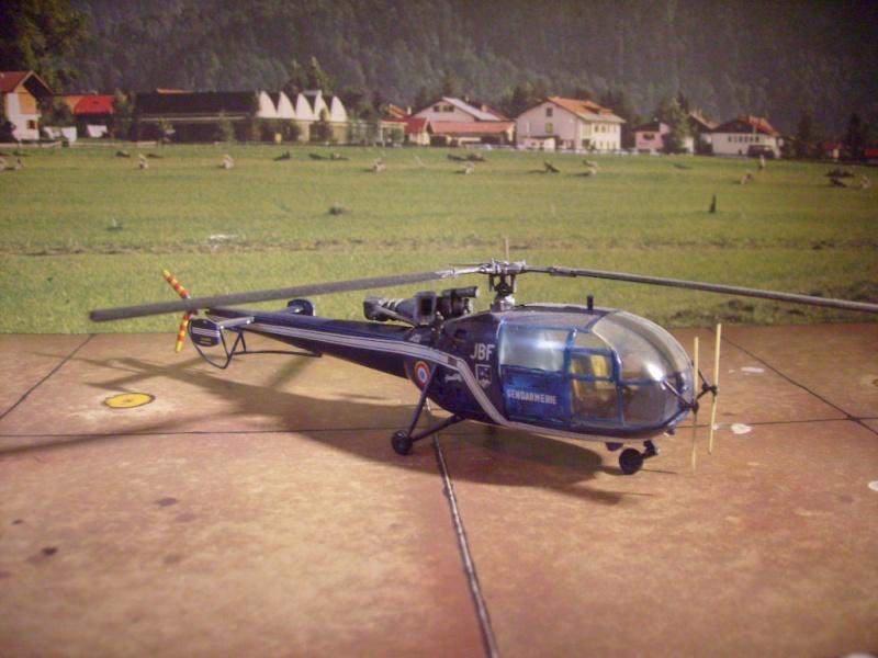 Alouette III gendarmerie nouveau package 2012 S7302121