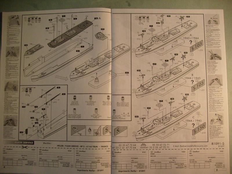 [Heller]Set Kriegsmarine au 400 eme S7305051