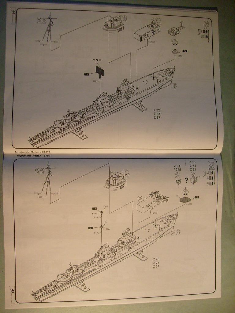 [Heller]Set Kriegsmarine au 400 eme S7305127