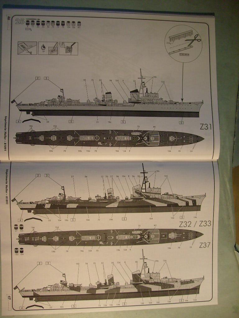[Heller]Set Kriegsmarine au 400 eme S7305128