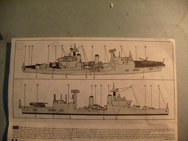 [MATCHBOX] Croiseur lance-missiles HMS TIGER 1/700ème Réf PK164 S7305138