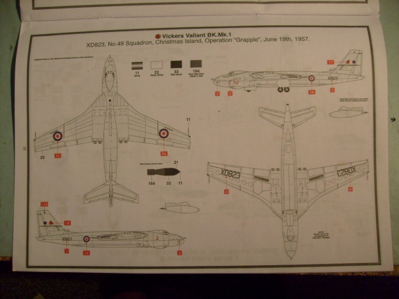 Comparatif REVELL / AIRFIX des  3 V ,HANDLEY PAGE VICTOR, AVRO VULCAN B Mk2, VICKERS VALIANT BK Mk 1 1/72ème S7305297