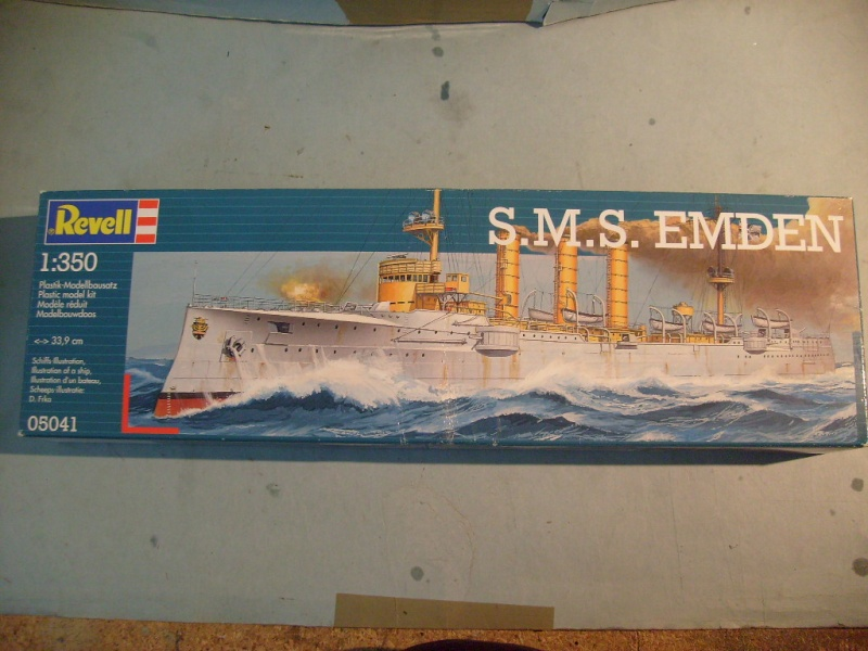 [REVELL] Croiseur léger SMS EMDEN1/350ème Réf 05041 S7305580