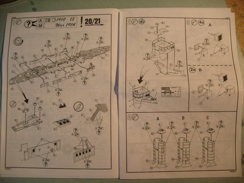 [REVELL] Croiseur léger SMS EMDEN1/350ème Réf 05041 S7305583