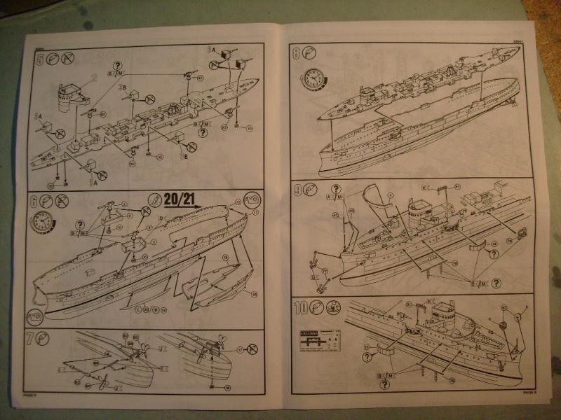 [REVELL] Croiseur léger SMS EMDEN1/350ème Réf 05041 S7305584