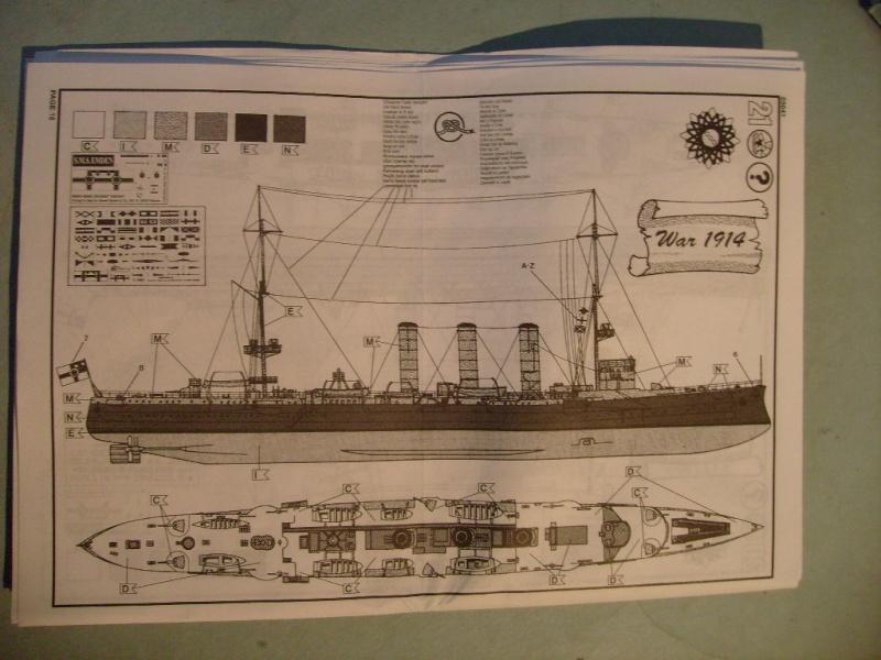 [REVELL] Croiseur léger SMS EMDEN1/350ème Réf 05041 S7305663