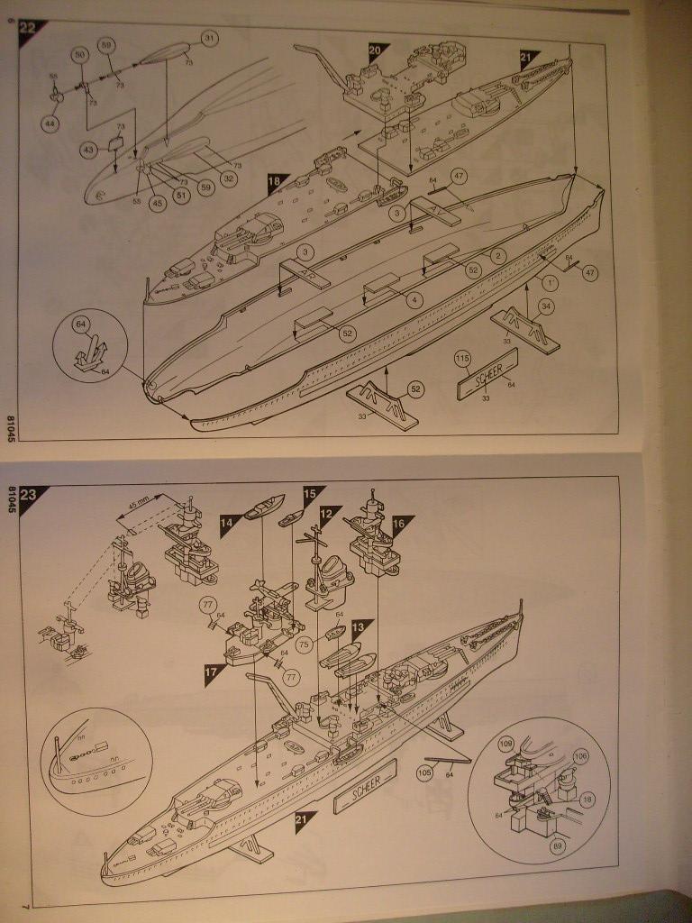 [Heller] cuirassés de poche Admiral Graf spee & Sheer au 400éme S7307117
