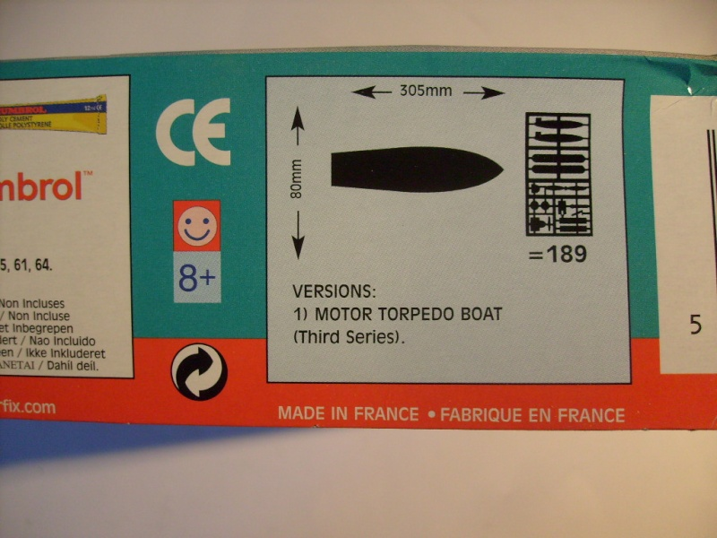 [AIRFIX] Vedette VOSPER MOTOR TORPEDO BOAT 1/72ème Réf 05280 S7307144