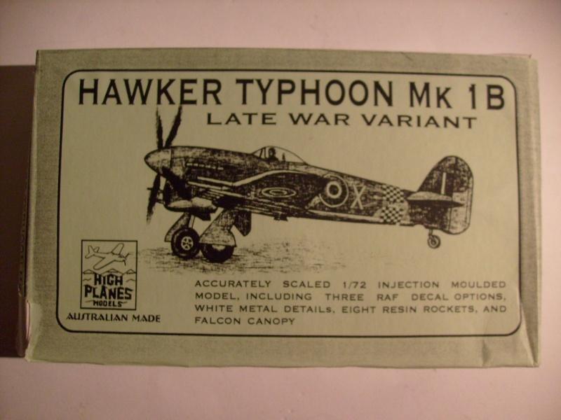Comparatif des Typhoons mk 1 B de diverses marque S7307669