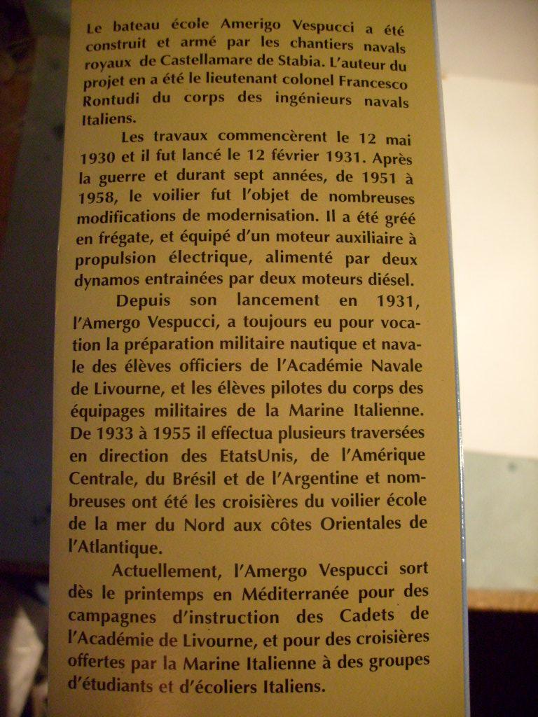 Voilier école AMERIGO VESPUCCI 1/150ème Réf 80807 S7307822