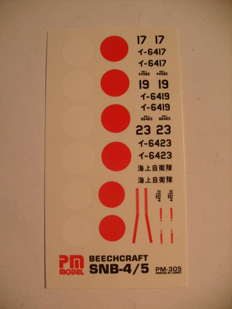 Multi-présentations PM MODEL BEECHCRAFT AT11 KANSAN & SN4/5 BENIBATO & C45 EXPEDITOR 1/72ème Réf PM 303 & PM 305 & PM 304 S7308165