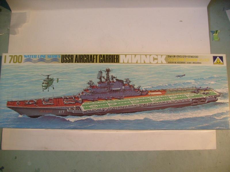 [AOSHIMA] Porte-avions MINSK & KIEV 1/700ème Réf 00503 & 00504 S7308582