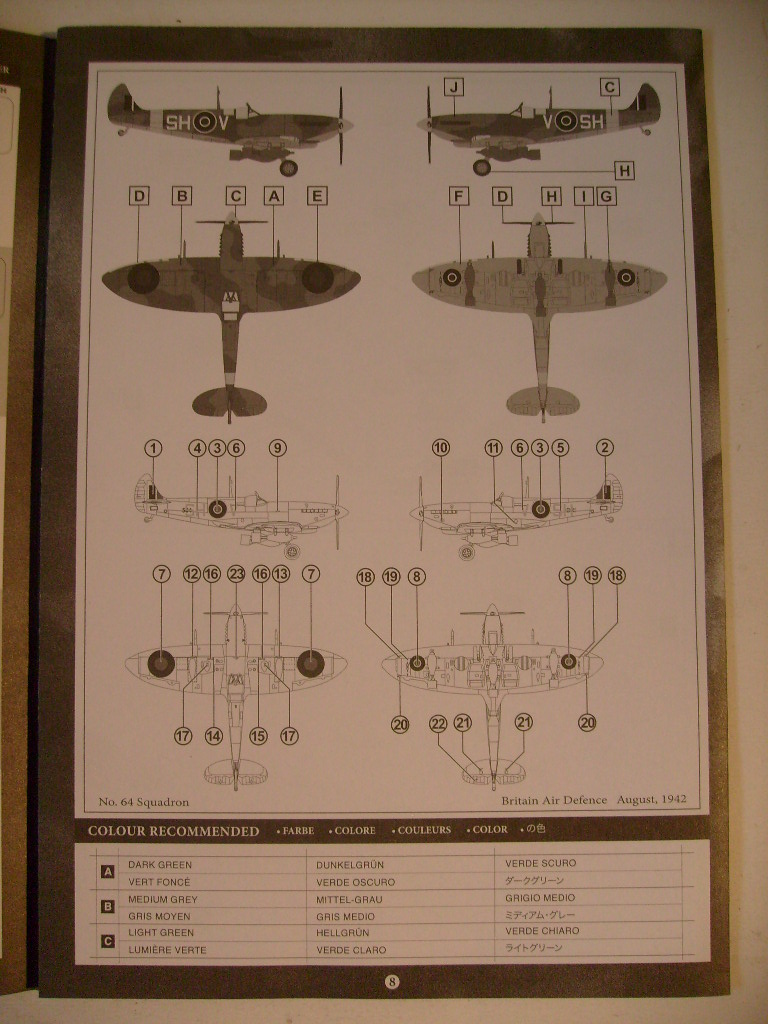 Multi-présentations UNIMAX-FORCE OF VALOR FOCKE WULF Fw190 D9 & CHANCE VOUGHT F4U-1 CORSAIR & NORTH AMERICAN P 51 MUSTANG 1/72ème S7308653