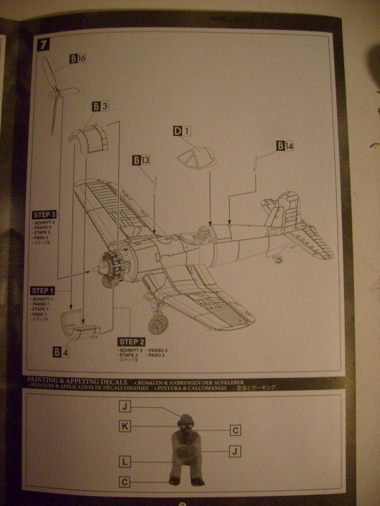 Multi-présentations UNIMAX-FORCE OF VALOR FOCKE WULF Fw190 D9 & CHANCE VOUGHT F4U-1 CORSAIR & NORTH AMERICAN P 51 MUSTANG 1/72ème S7308856