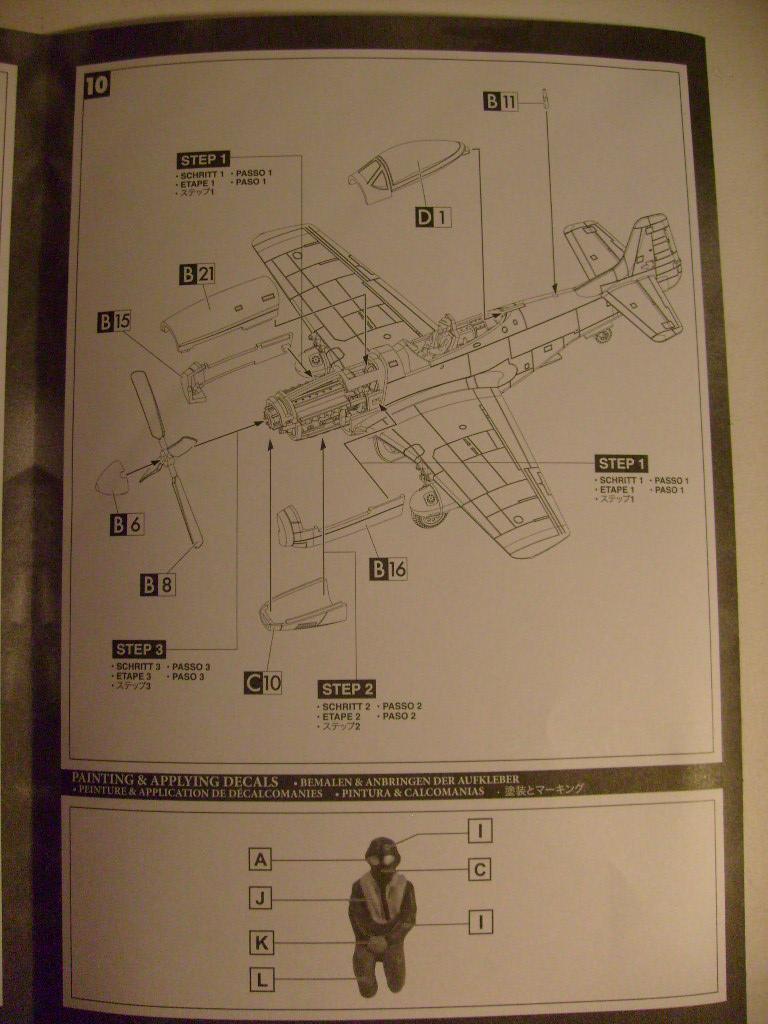 Multi-présentations UNIMAX-FORCE OF VALOR FOCKE WULF Fw190 D9 & CHANCE VOUGHT F4U-1 CORSAIR & NORTH AMERICAN P 51 MUSTANG 1/72ème S7308882