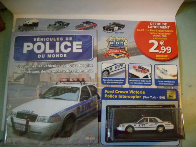 """Véhicules de police du monde"", test Altaya février 2012 S7309014"