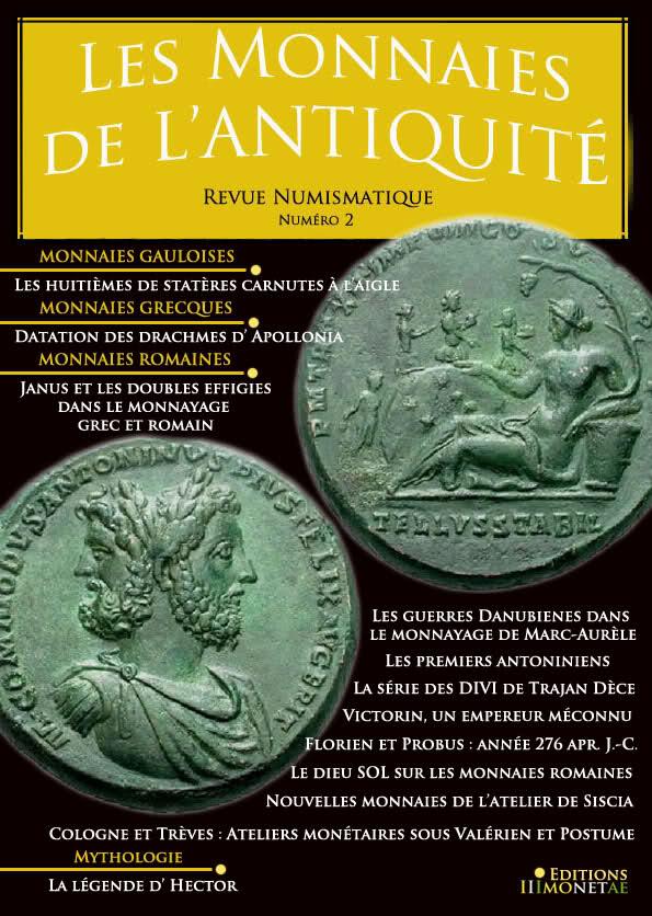 Sortie de la revue numismatique de monnaies de l'antiquités n°2 121a5t12