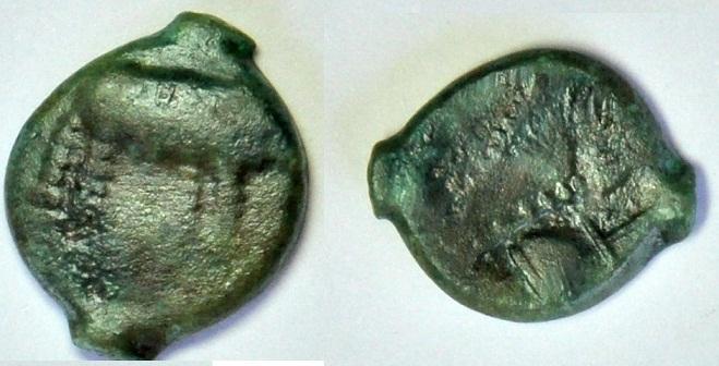 Bronze Trévires à l'éléphant 730_1710