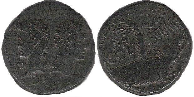 AS et Dupondius de Nîmes As_n10