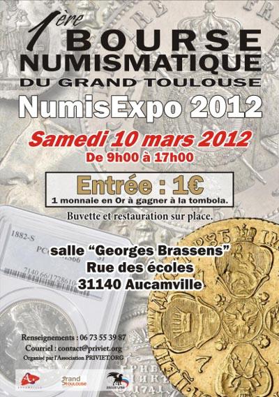 Les principales bourses ou salons pour ce mois de mars 2012 Bourse10