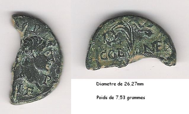AS et Dupondius de Nîmes Demi_a12