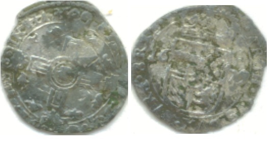 Doble Patard de Carlos II (Tournai, 1679) Double10