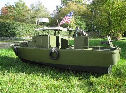 "Patrol - PBR 31 MARK II "" pibber"" ( patrol boat river) Diapos50"