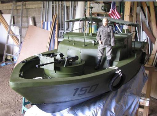 "Patrol - PBR 31 MARK II "" pibber"" ( patrol boat river) Diapos53"