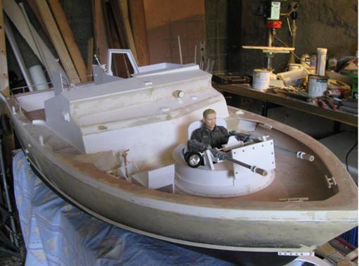 "Patrol - PBR 31 MARK II "" pibber"" ( patrol boat river) Diapos59"