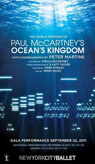 """""""Ocean's Kingdom"""" Le ballet composé par Paul McCartney Oceans10"""